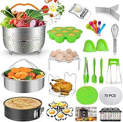 Instant Pot 6,8 Qt Electric Pressure Cooker Include 12 Pieces