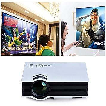 quickcor (TM) - Televisor LED Full HD 1080p Mini Proyector UC40 ...