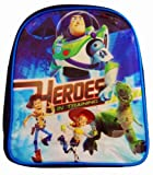 Disney Toy Story - Heroes In Training Buzz Lightyear, Woody, Jess and Dino Backpack - Rucksack
