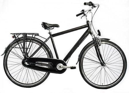 Bicicleta holandesa para hombre Altec Delta 3-velocidades negro ...