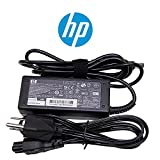 OEM HP 65W Laptop Charger AC/DC Adapter 18.5V 3.5A for HP Elitebook 8440p 8460p 2540p 2560p 2570p 2740p 2760p 6930p ; HP 2000 2000t 2000z