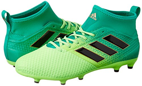 Adidas Ace 17.3 Primemesh Fg, Scarpe per Allenamento Calcio Uomo, Verde (Versol/Negbas/Verbas), 47 EU