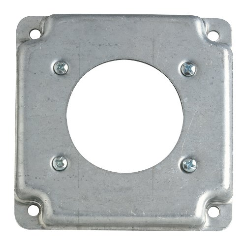 Steel City RS 13 4'' Square Exposed Work Cover, (1) Dryer/Range Receptacle