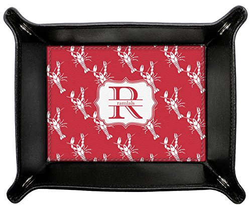 Crawfish Genuine Leather Valet Tray (Personalized) by RNK Shops