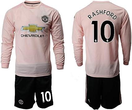 2018 2019 season marcus rashford 10 manchester united home soccer jersey long sleeve mens pink xl footballs amazon canada 2018 2019 season marcus rashford 10