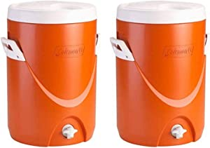 Coleman 5-Gallon Team Cooler (Orange/Set of 2)