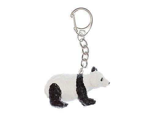 miniblings Anillo de Llavero llaveros Oso Panda Panda Zoo ...