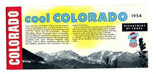 Brochure 1954 (Cool Colorado Tours Brochure 1954 Northwestern & Union Pacific Railroads)