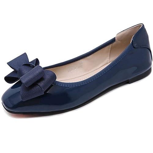 Bailarinas Mujer, Zapatos Planas Mocasines Clásico con Suela Antideslizante: Amazon.es: Zapatos y complementos