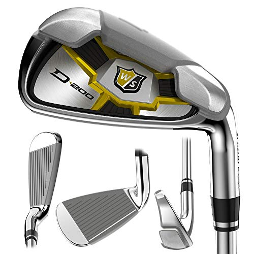 Wilson Staff Men's D200 Irons #5 - Gw Steel Uniflex Right