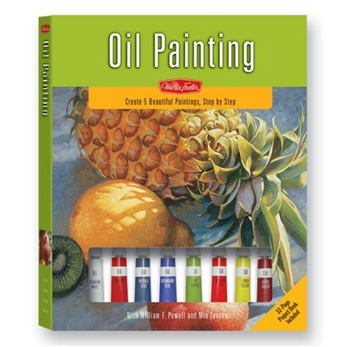 oil painting kit a complete painting kit for beginners walter foster painting kits