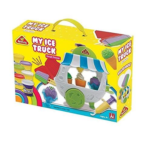 Master Toys Carrito de helados, de plastilina: Amazon.es: Juguetes y juegos