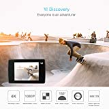 "YI Discovery 4K Action Camera 16MP WiFi 2.0"" LCD Touchscreen with 150° Wide Angle Sports Cam Sony Image Sensor"