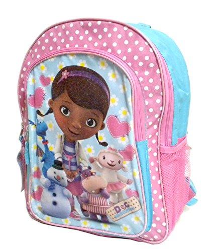 Disney Doc Mcstuffins and Friends 16 Inch Large Backpack School Bookbag
