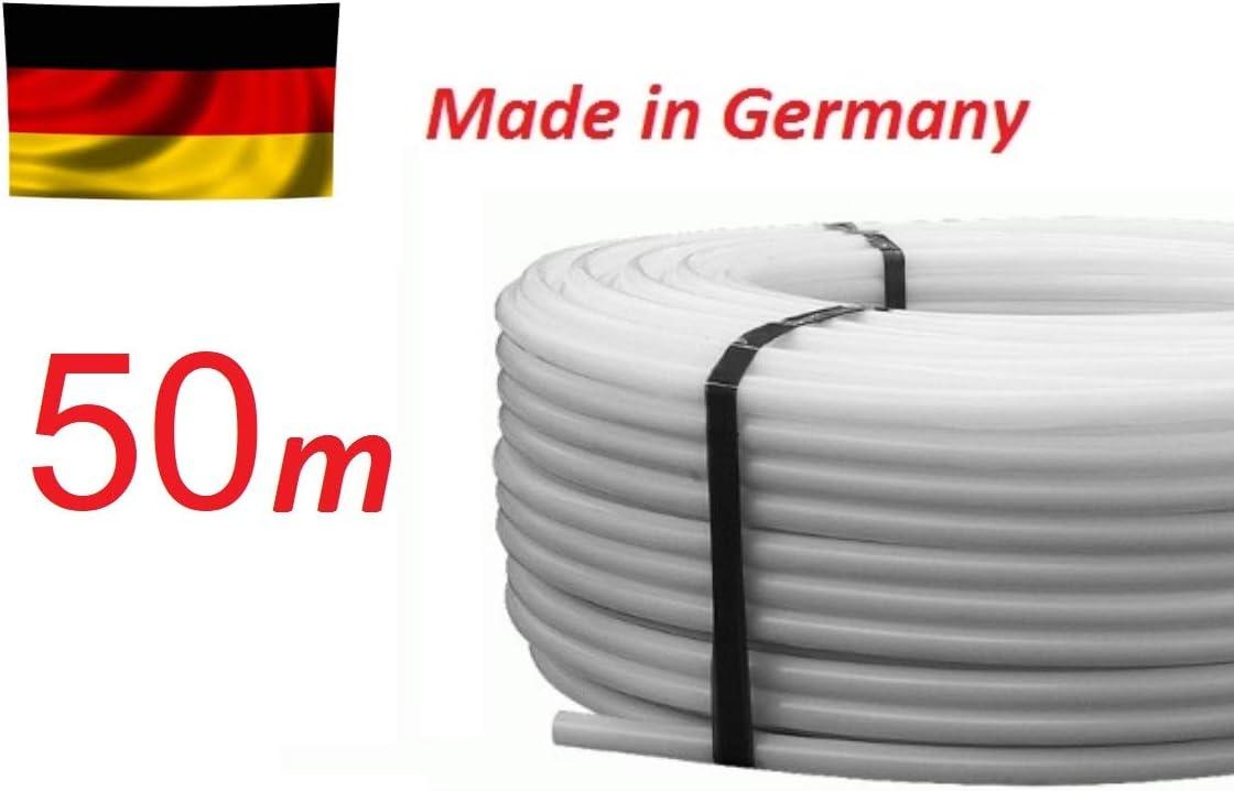 50m Rohr PE-RT 17 x 2 mm Fu/ßbodenheizung Heizrohr Fl/ächenheizung