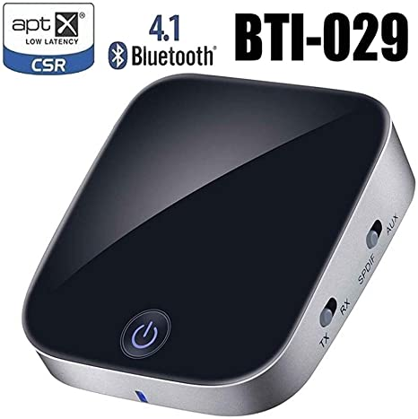 Adapter 3.5mm8670 Bluetooth Receiver Transmitter aux Bluetooth Receiver with Fiber Optics Black