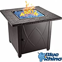 Blue Rhino Outdoor Propane Gas Fire Pit