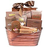 Godiva Chocolatier Gift Basket – New Assortment For 2017 Holiday Season – Special Select Chocolates With Improved Product Protective Packaging – Damage-Free Guarantee