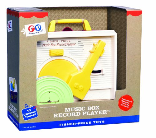 Fisher Price Classic Record Player Music Toy Retro Songs Mus