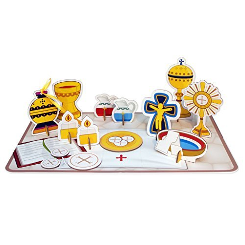 (My Pop-Out 14 Piece Children's Mass Activity Set)