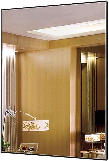 Bathroom mirror Espejo del BañO, Espejo De Vanidad Cuadrado, Espejo De Pared con Marco De Aluminio, Imagen HD: Amazon.es: Hogar