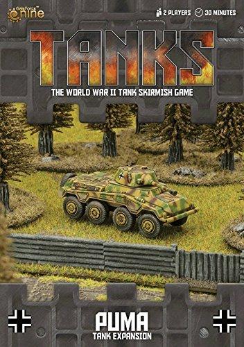 Tanks German Puma Tank Expansion (Best German Board Games)