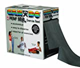 CanDo 10-5695 Latex Free Exercise Band, 100 yd, Black-X-Heavy