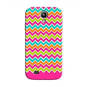 Cover It Up - Jagged Pop Galaxy S4Hard Case