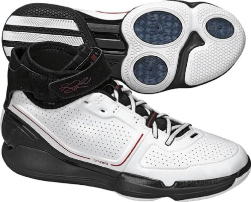 Adidas Mens Ts Adizero Creator Scarpa Da Basket Running Ftw Bianco / Running Bianco Ftw / Nero 1