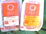 Olli Salami Pre-Sliced 2-4 ounce Packs-Pepperoni & Calabrese Salami
