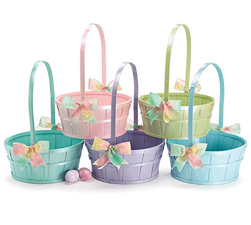 Burton & Burton Basket Wood Childrens Party Supplies by Burton & Burton (Image #1)