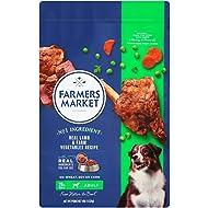 Farmers Market Pet Food Premium Natural Dry Dog Food, 10 Lb Bag, Lamb with Farm Vegetables