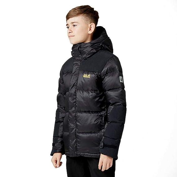 1e07acaf7 Jack Wolfskin Boys & Girls Cook Lightweight Windproof Down Jacket Coat:  Amazon.co.uk: Clothing
