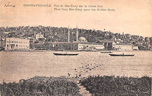 Has Keny upon the Golden Horn Constantinople Turkey Postcard ()