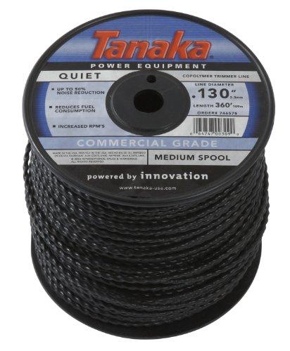 Tanaka 746575 .130-Inch 360-Feet Trimmer Line Spool, Black by Tanaka Power Equipment