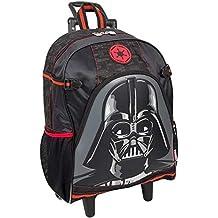 Mochila com rodas Grande Star Wars Darth Vader 16Y01 - Sestini