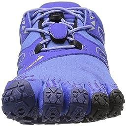 Vibram Women\'s V Trail Runner, Purple/Black, 41 EU/9 M US