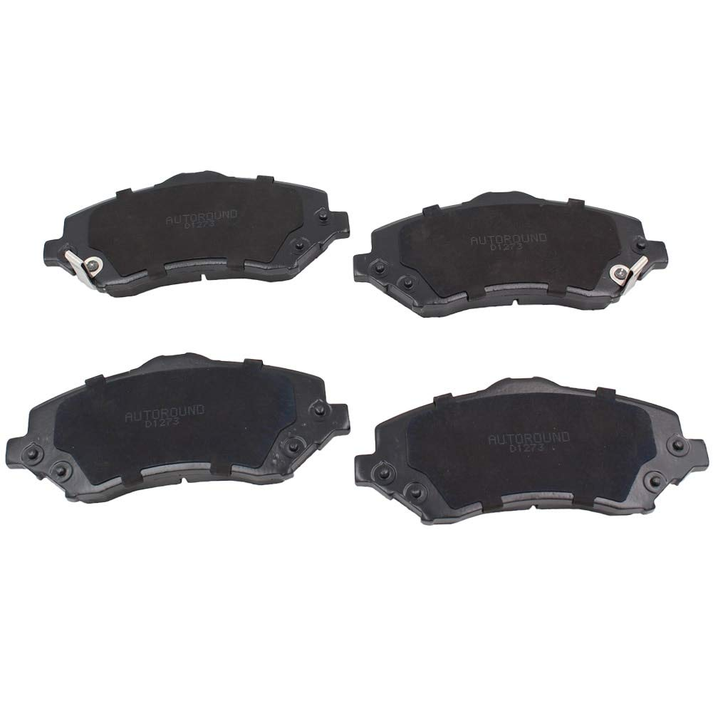 MACEL Ceramic Discs D1273 Brake Pads Set