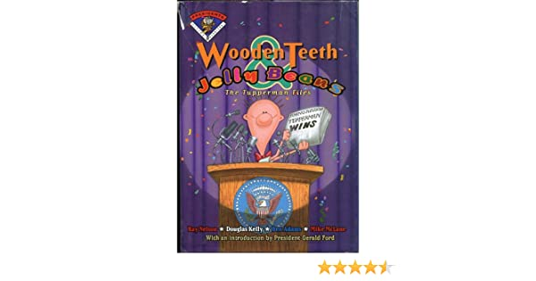 Amazoncom Wooden Teeth Jelly Beans The Tupperman Files Flying