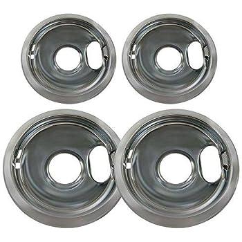 Range Kleen 10124xn Drip Pans 4 Pack Containing 2 Units