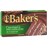 Baker's German's Sweet Chocolate Bar