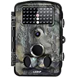 LESHP Trail Camera 12MP 1080P 2.4 LCD Game&Hunting Camera with 940nm Upgrading IR LEDs Night Vision up to 65ft/20m IP66 Spray Water Protected Design