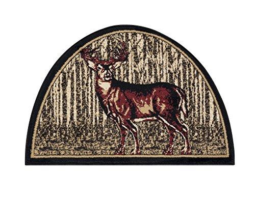 Great American Distributors Hunter Collection Majestic Hearth Rug, 2'2″ x 3'3″, Multicolor