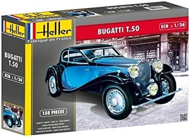 1:24 Heller Bugatti T.50 Model Kit.