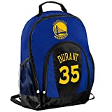 TBFC Golden State Warriors Primetime Backpack School Gym Bag - Kevin Durant #35