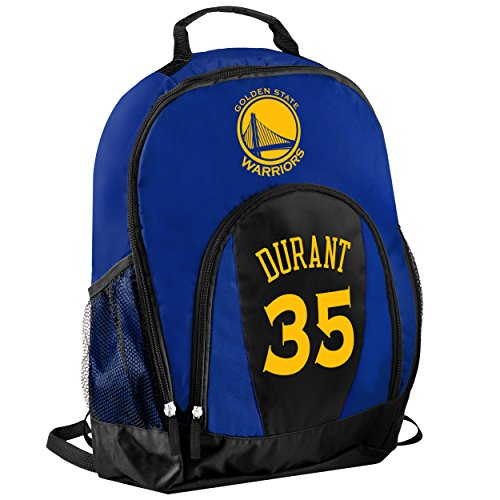 TBFC Golden State Warriors Primetime Backpack School Gym Bag - Kevin Durant #35 by TBFC (Image #2)