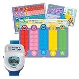 Potty Watch Potty Training Timer, Blue with Potty Rewards Kit