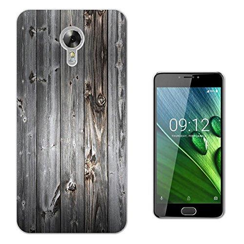 "003189 - Decorative wood pattern Design Acer Liquid Z6 Plus 5.5"" Fashion Trend Protecteur Coque Gel Rubber Silicone protection Case Coque"