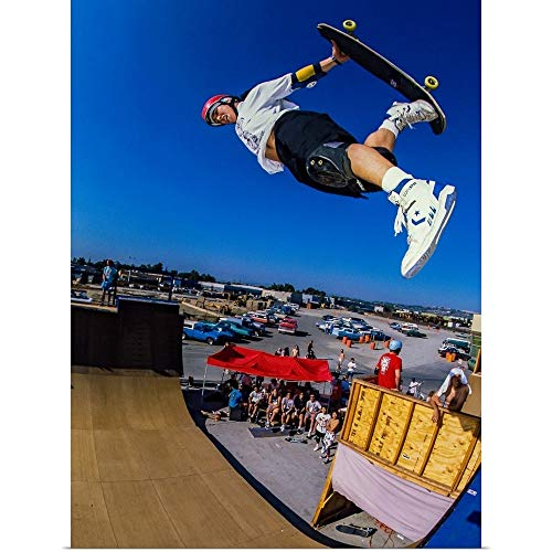- Great Big Canvas Poster Print Entitled Christian Hosoi in The air at Vans Skatepark in California by Sean Sullivan 18
