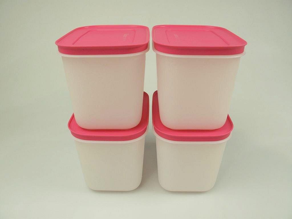 Tupperware Congelador 1,1l (4) Blanco y Rosa Depósito de hielo ...
